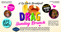 Drag Brunch with Mona Lotts and Kristina Kelly!