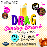 Drag Brunch with Hosts Mona Lotts & Kristina Kelly
