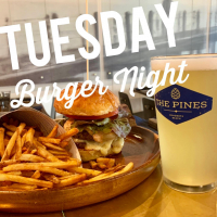 Burger Night at the Pines!